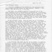 [Letter from Anne Newman to Robert Cross, 03/16/1970]