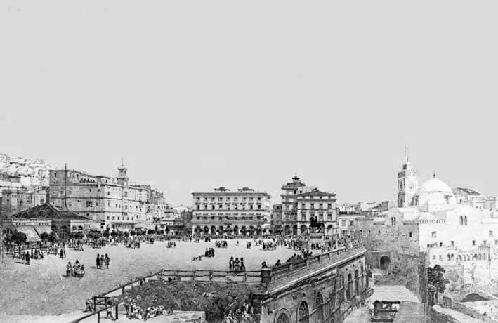 Place du Gouvernement, 1852