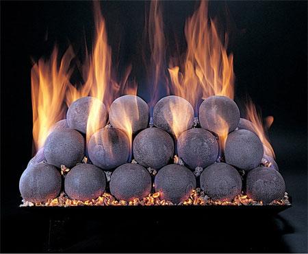 Rasmussen FireBall fireplace