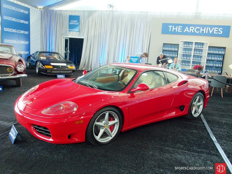 2001 Ferrari 360 Modena F1 Berlinetta