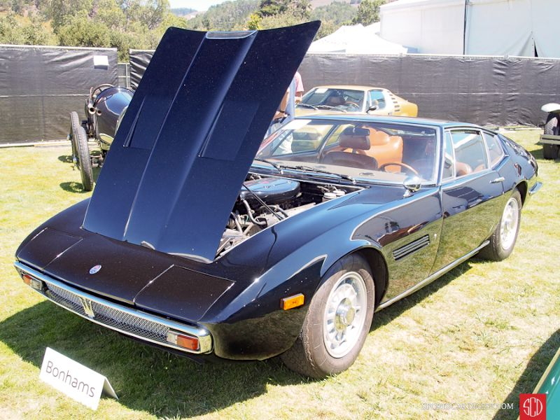 1971 Maserati Ghibli SS Coupe, Body by Ghia