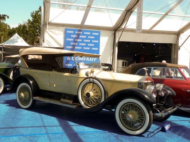 1925 Rolls-Royce Silver Ghost 40-50hp Pall Mall Tourer