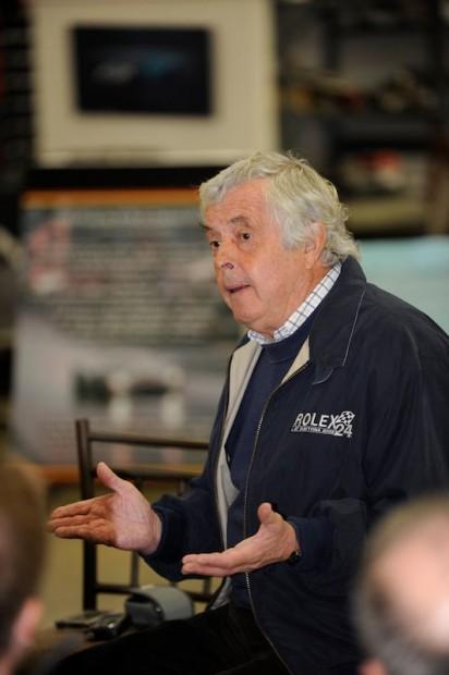 Brian Redman talks to Porsche Club of America's Pacific Northwest Region