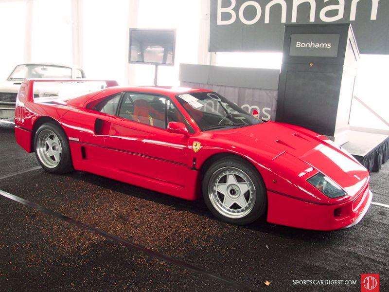 1989 Ferrari F40 Coupe