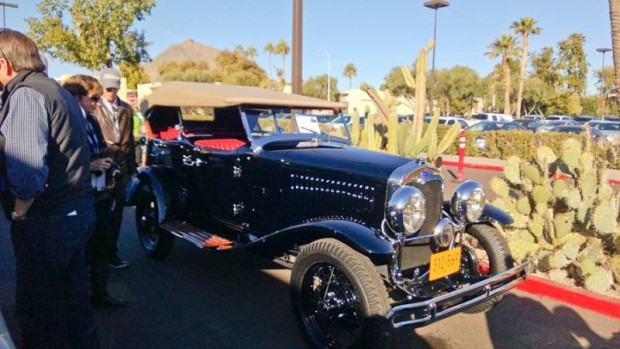 1930 Ford Model A Special Dual Cowl Sport Phaeton