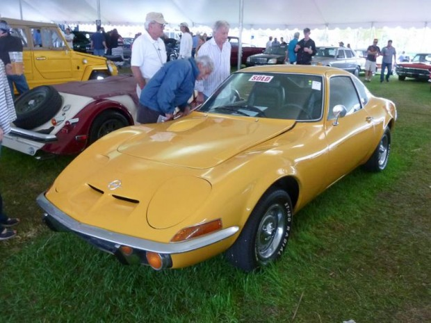 1972 Opel GT Coupe