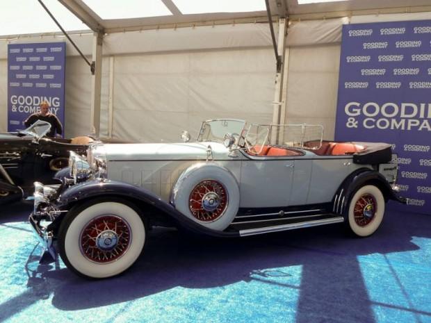 1931 Cadillac 370-A V-12 Phaeton, Body by Fleetwood