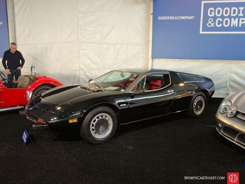 1972 Maserati Bora 4.9 Coupe;