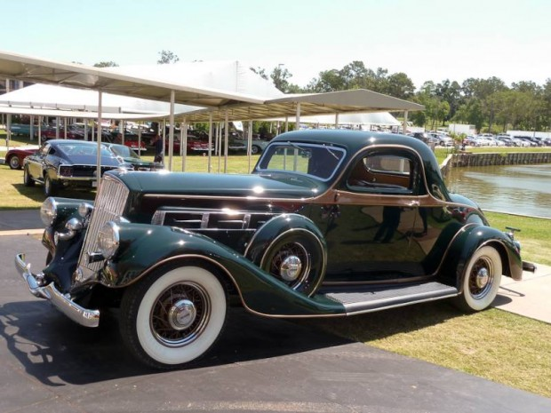 1935 Pierce-Arrow 845 3-Window Coupe