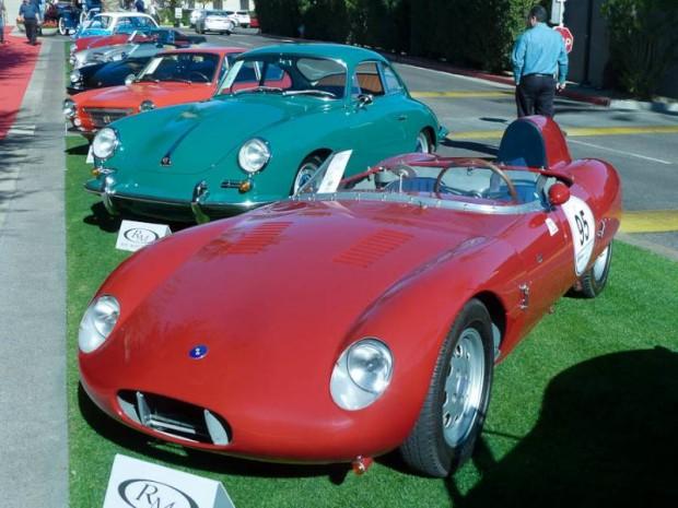 1960 OSCA 750 S Spider