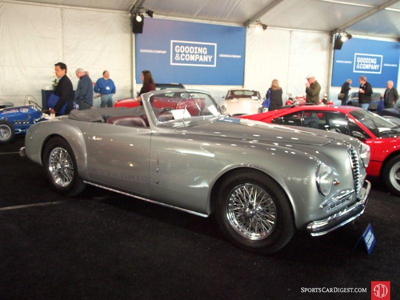 1948 Alfa Romeo 6C 2500 SS Cabriolet, Body by Stabilimenti Farina