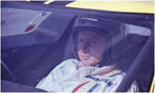 Bruce McLaren in the Shelby American Ford GT40 Mk II