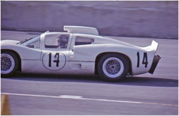 Bob Johnson and Bruce Jennings, #14 Chaparral 2D