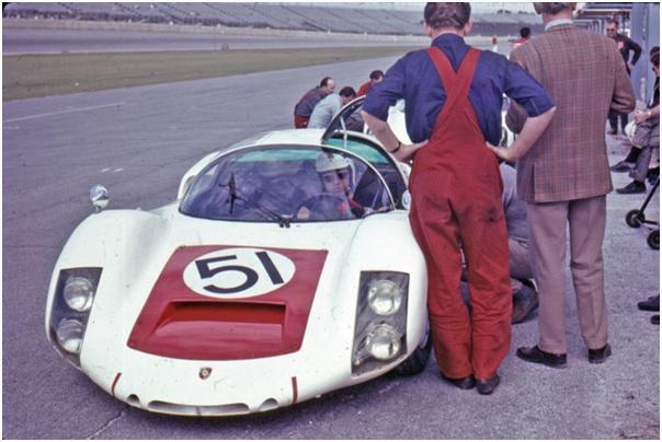 Factory Porsche 906 E - Gerhard Mitter and Jochen Rindt