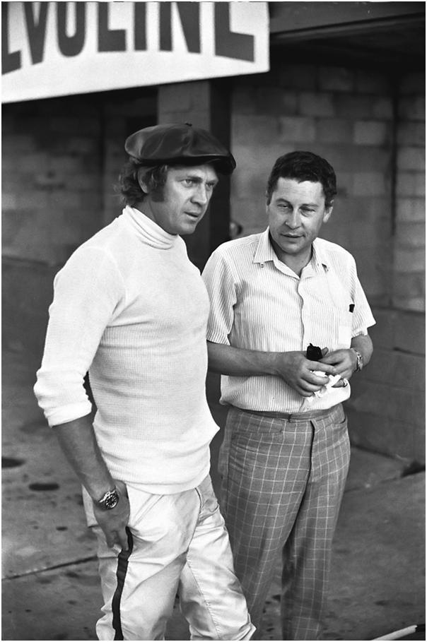 Steve McQueen at the 1970 Sebring 12 Hours