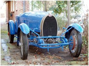 1929 Bugatti Type 40 Grand Sport