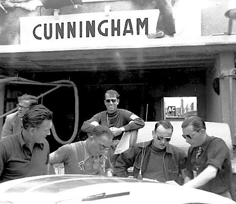 Briggs had John and co-driver, George Rice, run a new Cunningham C4R at the 1952 Le Mans. After running in third for the first four hours, their engine failed and they were DNF.