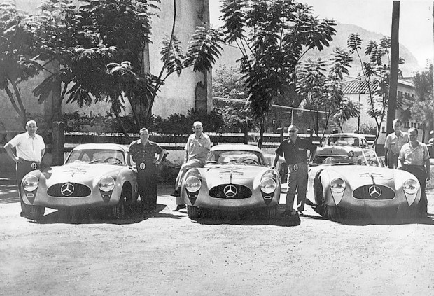 Because of his tryout earlier in the year and because he had lobbied hard to convince Neubauer to enter, Fitch was invited to join Mercedes-Benz in its assault on the Carrera Panamericana, the Mexican Road Race.