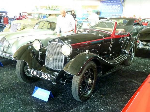 1933 Alfa Romeo 6C 1750 Gran Sport Drophead Coupe Castagna