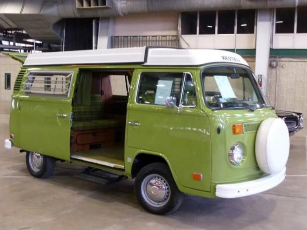 1979 Volkswagen Type 2 Westfalia Popup Camper