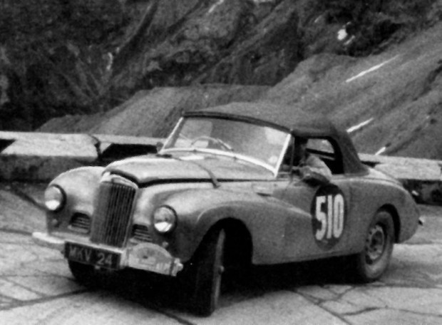 Fitch stayed on in Europe to run a Sunbeam-Talbot in the Alpine Rally for the factory. He and navigator Peter Miller were 20th overall and 8th in class.