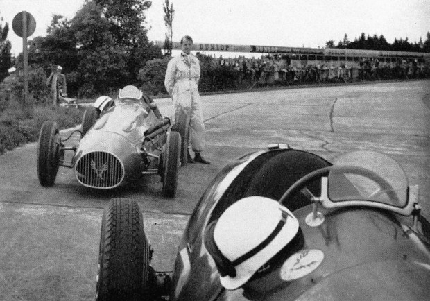 Fitch only entered five events in 1954. His best finish a 3rd at Tampa in Brigg's 2.9 Ferrari. John's main activity that year was helping make the movie, Racers.