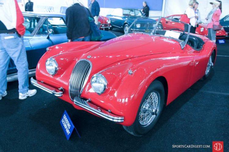 1954 Jaguar XK 120M Roadster