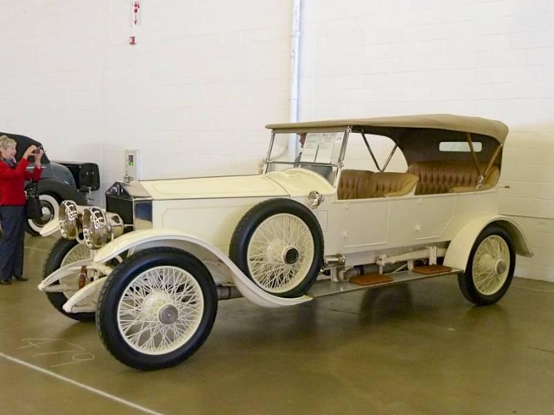 Leake collector car dallas 2012 auction report for Rolls royce motor cars dallas