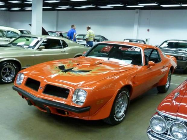 1975 Pontiac Firebird Trans Am Coupe