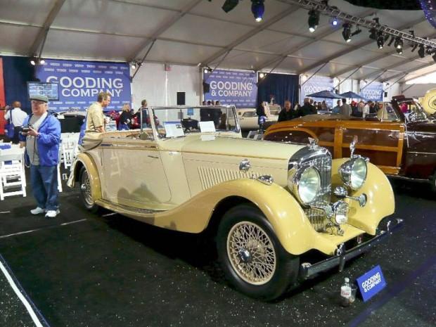 1938 Bentley 4.25 Liter Drophead Coupe