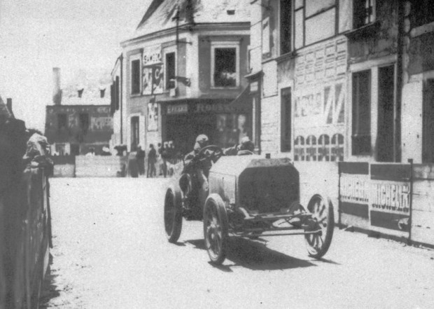 1906 French Grand Prix - Georges Teste Panhard