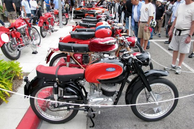 Italian Motorcycles at Rodeo Drive Concours