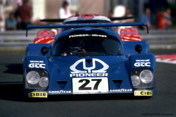 Mario and Michael Andretti had qualified this Mirage M12 01/Ford in ninth, but the car was pulled from the grid and disqualified on a technical infraction immediately prior to the start of the race.