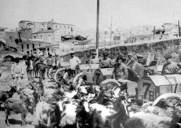 1906 Targa Florio, Isotta Fraschini race cars