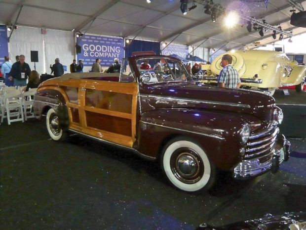 1947 Ford Super Deluxe Convertible Coupe Sportsman