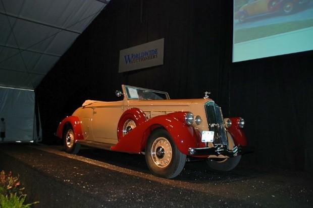 1936 Pierce-Arrow 1602 Salon Twelve Convertible Coupe Roadster