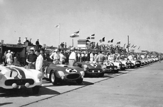 1956 Sebring 12 Hours, Chevrolet Corvette factory team