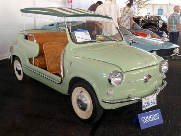 1959 Fiat 600 Jolly, Body by Ghia