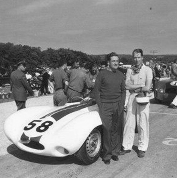 For the rest of the year, John drove for Briggs Cunningham. At Elkhart Lake on September 9 in a 6-hour, he was second overall in a D-Type Jaguar.