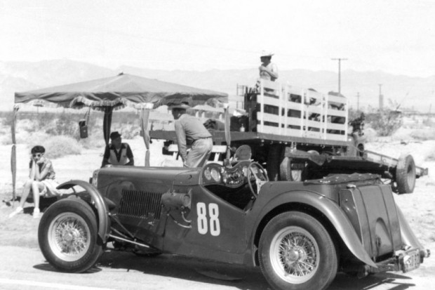 MG 88 Special at Palm Springs, 1951