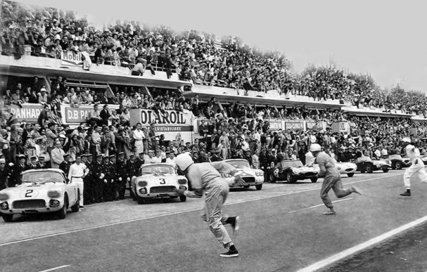 Running Start of the 1960 24 Hours of Le Mans