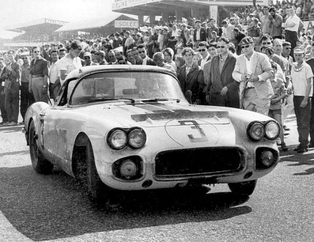 John and Bob finished 8th overall, the best a Corvette would do at Le Mans until 2001.