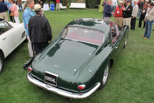1955 Ferrari 375 America Coupe Speciale built for Gianni Agnelli - Jack E. Thomas.  Photo William Edgar