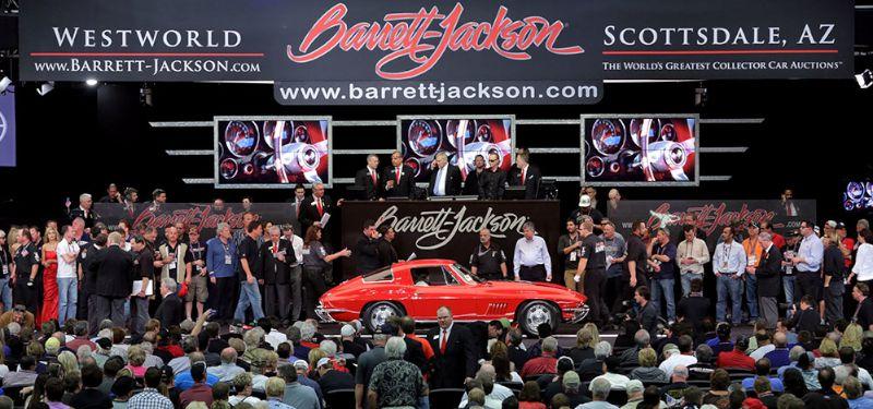 Barrett Jackson Scottsdale 2014 Auction Results