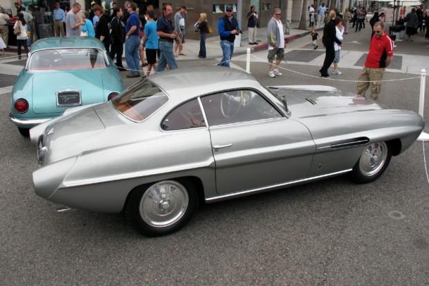 1953 FIAT 8V Ghia Supersonic