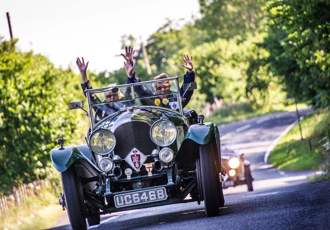 1928 Bentley 3-4 1/2 Vanden Plas