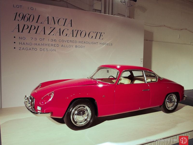 1960 Lancia Appia GT Coupe, Body by Zagato