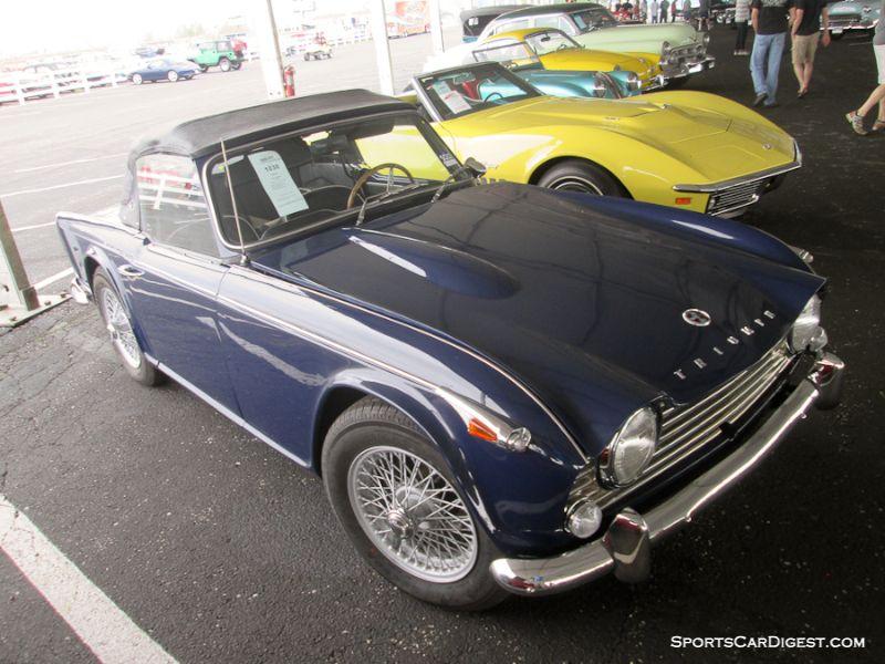 1966 Triumph TR4A Roadster