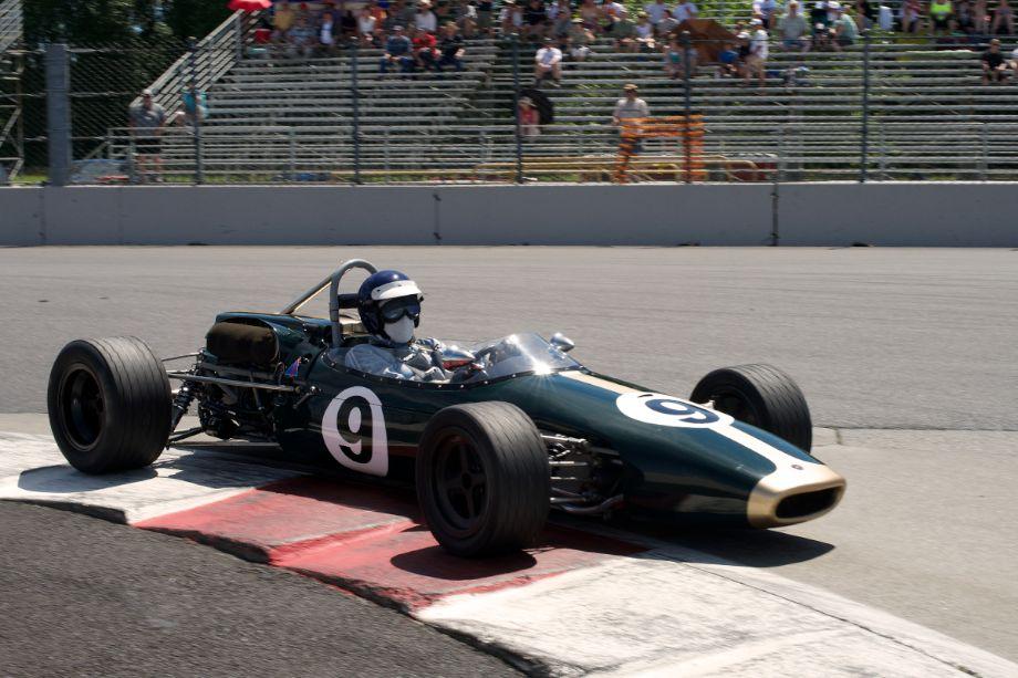 1965 Brabham driven by John DeLane.