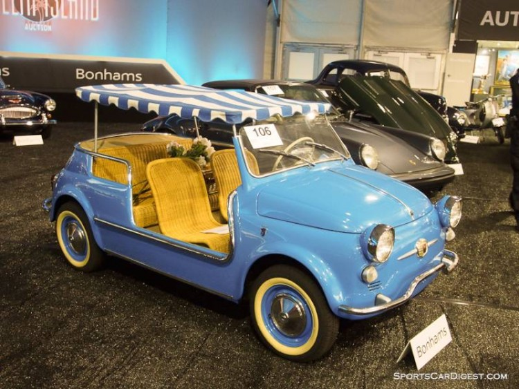 1959 Fiat 500 Jolly, Body by Ghia